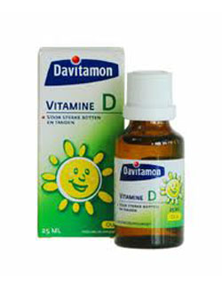 Davitamon Vitamine D Olie - 25 ml