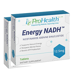 Energy NADH 12,5 mg - 30 tabletten (2 Pack - € 29,50 p.st.)