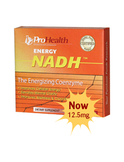 Energy NADH 12,5 mg - 30 tabletten
