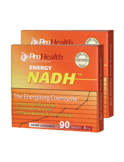 Energy NADH 5mg, 90 tabletten (2 Pack - € 55,00 p.st.)