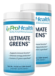 Ultimate Greens 300 gram (2 Pack - € 24,99 p.st.)