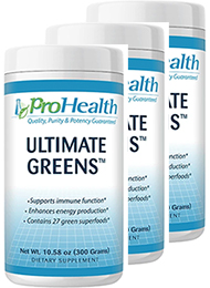 Ultimate Greens 300 gram (3 Pack - € 23,99 p.st.)