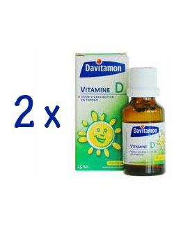 Davitamon Vitamine D Aquosum - 25 ml (2 Pack - € 5,95 / st.)