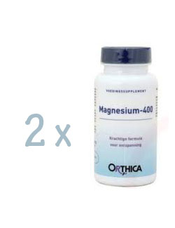 Orthica Magnesium 400 - 120 tabletten (2 pack - € 20,85 / st.)