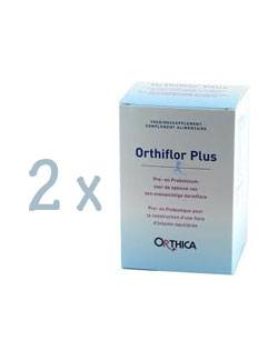 Orthica Orthiflor Plus - 30 sachets (2 Pack - € 33,75 / st.)