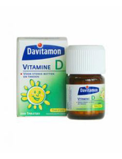 Davitamon Vitamine D - 200 Tabletten